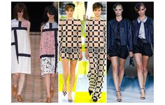 Double Trouble -  Best friends or evil twins, this Fashion Week we were seeing double with some of the biggest names sending their girls out two by two. Louis Vuitton, Julien David, Giorgio Armani and the closing duo at Saint Laurent look to have been inspired by 1967 French film The Young Ladies of Rochefort. #springtrends #twins
