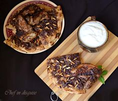 mosakhan. This popular Palestinian flat bread is topped with onions, spices, and nuts, and typically served with chicken. It literally has all the good things.