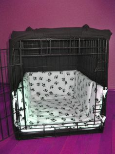 CUSTOM Dog Crate Bumpers for Large 30 Crate by LuluCrateCouture, $30.00