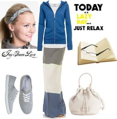 """""""Lazy Day Wear"""" by audge999 ❤ liked on Polyvore"""