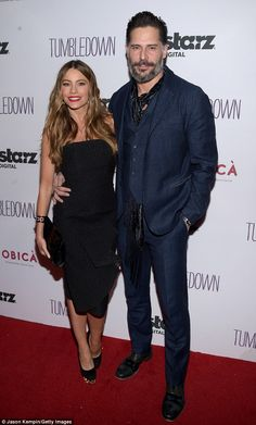 'I wouldn't mind another child': Sofía Vergara is planning on having children with her second husband of three months, Joe Manganiello (pictured Monday)