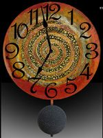 time swirling...inward or outward?  you decide.