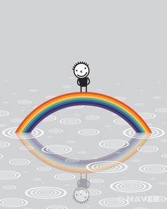 a rainbow   권기수(Kwon, Ki soo)   2011년 / acrylic on canvas on board / 162 x 130 cm