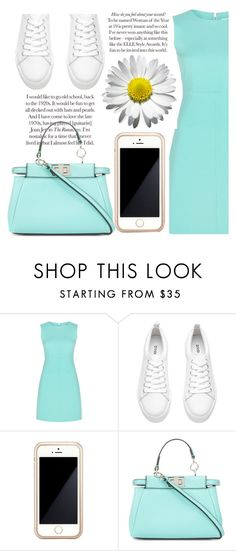 """Rhythm"" by willneverdie ❤ liked on Polyvore featuring Diane Von Furstenberg, H&M, Squair and Fendi"