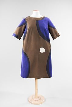 Dress Marimekko  Date: ca. 1966 Culture: Finnish Medium: cotton