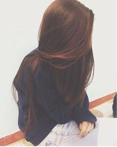 Her hair looks so silky! Messy Hairstyles, Pretty Hairstyles, Straight Hairstyles, Long Haircuts, Pelo Cafe, Dream Hair, Hair Day, Gorgeous Hair, Hair Looks