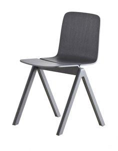 HAY Copenhague stoel - Grijs gebeitst