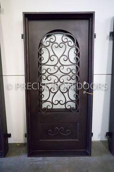 Iron Doors | Entry Iron Door, Custom Wrought Iron Doors, Wholesale ...