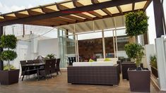 Pergola With Retractable Roof Product Pergola Garden, Pergola Swing, Pergola Shade, Pergola Plans, Diy Pergola, Pergola Kits, Pergola Ideas, Pergola Cover, Pergola Attached To House