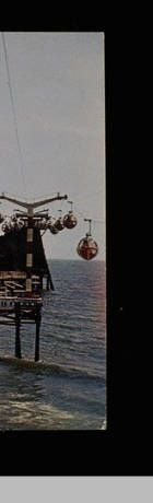 Sky Ride at Pacific Ocean Park, POP, Santa Monica, Calif. Sky Ride, Ocean Park, Image Archive, Pacific Ocean, Santa Monica, California, Pop, History, Popular