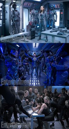 Introduce into The Expanse Season 2 meet New Zealand Actress Frankie Adams as Bobbie Draper. Told we will be excited to be onscreen. Lucky Entertainment Weekly also give other two preview photos was filmed on set. Seen mention Season 2 returns January 2017. Can't wait!!