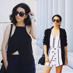 Thanks #fashionmask for sharing the #top and #jumpsuit ! Tap our bio to shop ! Follow us to : ➡️see more product #zaful