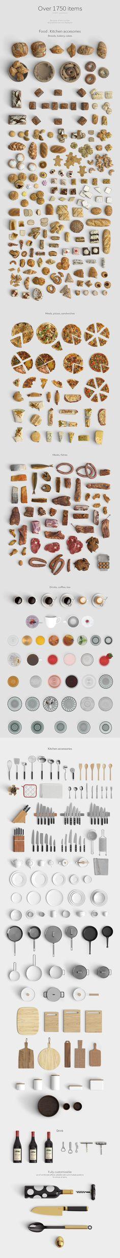 Scene creator [Top view] by Qeaql on Creative Market - Modern Web Design, Graphic Design, Scene Creator, The Creator, Hd Textures, Interior Plants, Interior Design, Mockup Templates, Branding
