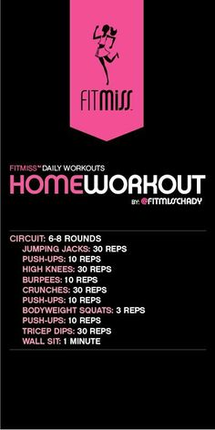 Fitmiss Home Workout