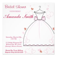Soft Bridal Shower Invitation