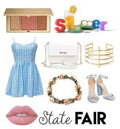 """""""Summer look"""" by rainbowcutie1 on Polyvore featuring Estée Lauder, BauXo and Lime Crime"""