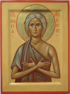 St. Mary of Egypt Russian Orthodox icon