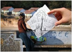 Pencil Vs Camera Amazing art by Belgian artist Ben Heine Photo Pencil Camera, Camera Art, Pencil Art, Pencil Drawings, Creative Photography, Amazing Photography, Art Photography, Digital Photography, Travel Photography