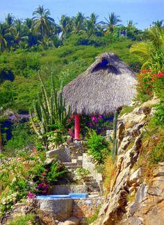 #Puerto Escondido, Oaxaca, Mexico photo by Tracy Verdugo http://artoftracyverdugo.blogspot.com side trips are fun in Oaxaca-BGS