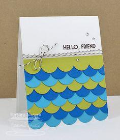 Hello, Friend - Handmade Card