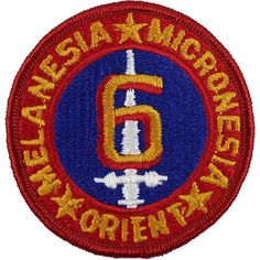 6th Marine Division Full Color Patch
