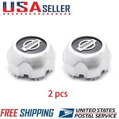 2 PACK NEW XTERRA FRONTIER Rim Wheel Center hub Caps 40315-7Z100 FOR Nissan US