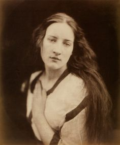 Julia Margaret Cameron.  The Echo, 1868  Albumen print  From Julia Margaret Cameron's Women