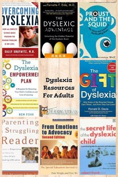 Dyslexia Reading List: How many of these have you read? Do you have a favorite? I recommend beginning with Overcoming Dyslexia. #thereadingtutorog
