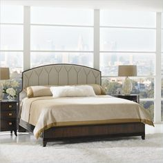 Crestaire - Ladera Bed in Porter - 436-13-42 - Stanley furniture - Bedroom - Modern Furniture