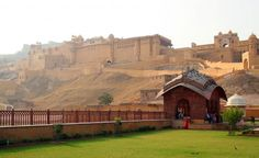 Jaipur, Rajasthan, India; this place is gorgeous; Amber Fort