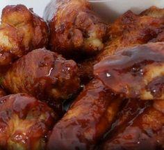 Crockpot Drunken BBQ Chicken Wings recipe