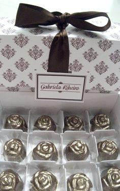 Caixa Gabriela Ribeiro de chocolates nobres