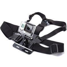XCSOURCE® bretelle élastique d'appareil photo Harnais de poitrine ceinture de fixation pour GoPro HD Hero 1 2 3 3+ 4 avec adjustement de base OS013: Amazon.fr: Informatique