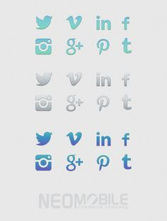 Freebies by Neomobile: free social media icons for your web site. Social media are one of the main drivers of information discovery and sharing. New Business Ideas, Business Tips, Brand Design, Free Design, Geek Website, Online Labels, Social Media Icons, Printable Stickers, Infographics
