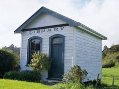 Small Working Country Library, Near Dargaville, Northland, North Island, New Zealand, Pacific  I've been in libraries this tiny. :o)