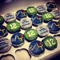 seahawk cupcakes | Cupcakes Take The Cake: Seahawks Celebrate with New York Cupcakes
