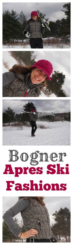 Bogner makes the most stylish pants around and the Fire + Ice line has been bringing fashion to the slopes for 25 years. I'm wearing the Lexi Pant–and it was well tested this weekend with more than 10 hours of time on the slopes.