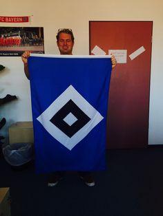 HSV zeigt Flagge!
