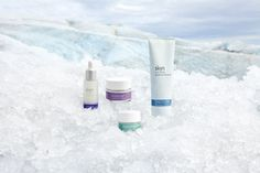 Check out our Arctic Elixir, Pure Cloud Cream, Icelandic Relief Eye Cream and our Glacial Face Wash!