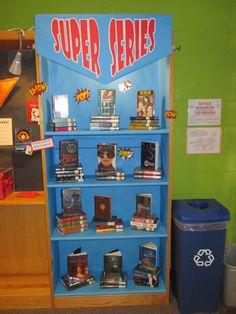 Super Series display (put the whole series on display together) popular series as well as some of the lesser known ones.