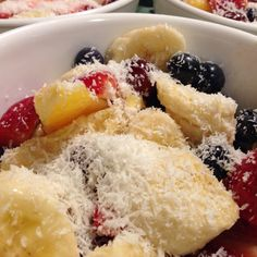 Lunch is served! I made fruit salads today :D Haven't done that in a while! #food #fruit #salad