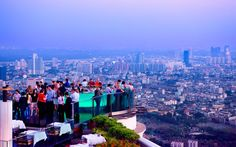 The Highest Open-air Bar | From the highest waterfall to the tallest (ceramic) pot, these are the highest places on the planet.