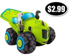 Fisher-Price Nickelodeon Stuffed Blaze and the Monster Machines Zeg Only $2.99 - http://www.swaggrabber.com/?p=297083