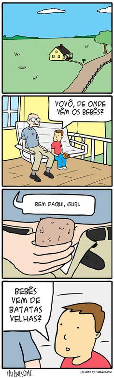 A origem dos bebês.