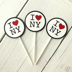Me encanta Nueva York inspiradas de la Magdalena/la torta