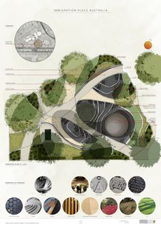 Competition Winner Announced Landscape Sketch, Park Landscape, Landscape Architecture Design, Architecture Graphics, Landscape Plans, Urban Landscape, Landscape Engineer, Parque Linear, Urban Design Diagram