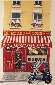 Collage of Life: Notting Hill, Cookbooks and a Giveaway