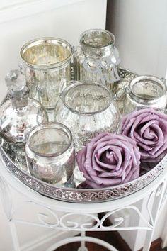 Bara Det Ljuvligaste - Mercury Glass, Candles, Christmas