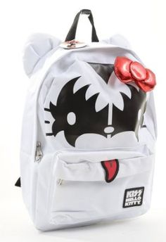 Amazon.com: Hello Kitty Loungefly KISS Backpack: Clothing