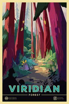 Visit Our Beautiful Pokémon National Parks